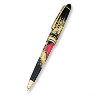山中漆器 漆芸ボールペン 新赤富士