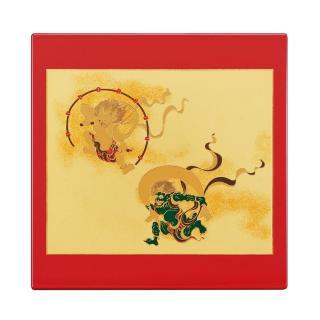山中漆器 マウスパッド 風神雷神(R)
