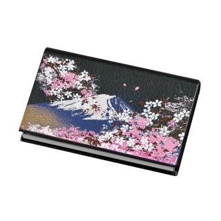 漆芸名刺入れ 富士桜(B)