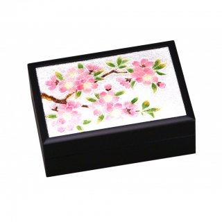 七宝焼き 卓上小物 小箱(小)新桜