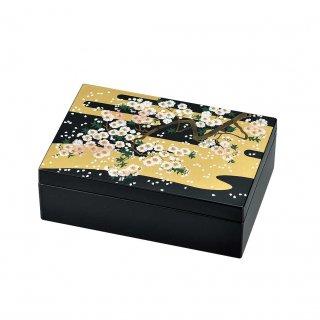 山中漆器 アクセサリーBOX 雅桜