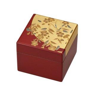 山中漆器 姫小箱(鏡付)さくら