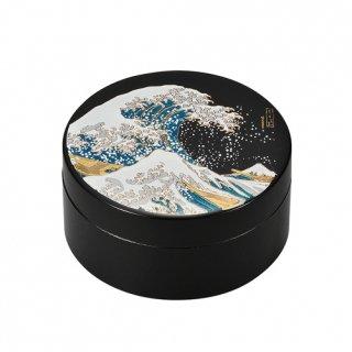 山中漆器 3.0アクセサリーケース 波