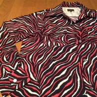 <img class='new_mark_img1' src='//img.shop-pro.jp/img/new/icons1.gif' style='border:none;display:inline;margin:0px;padding:0px;width:auto;' /> Vintage Style Animal Box Shirt Long Sleeves Red