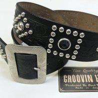 Vintage 40's style Studded Belt - A