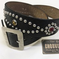 <img class='new_mark_img1' src='//img.shop-pro.jp/img/new/icons1.gif' style='border:none;display:inline;margin:0px;padding:0px;width:auto;' />Vintage 40S Style Studded Belt The Groovin High × RAWHIDE type B