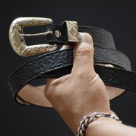 Vintage Style Western Belt