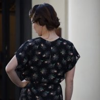 1940's style Dress - Spider Web