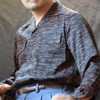 Rayon BOX Shirt A261 Black