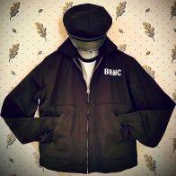 Vintage Wild One Style Cotton Jacket B.R.M.C