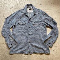 1950's style Cotton shirt Stripe B