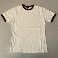 Vintage Style Ringer Cotton T-Shirt