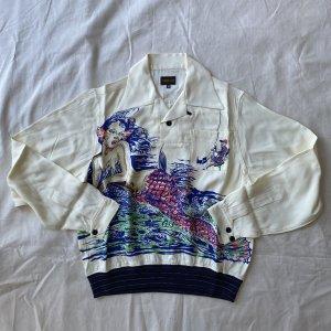 1940's Rayon Pullover Shirt 【納品時期:3〜4月】