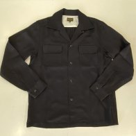 Vintage Box Rayon Long Sleeves Shirt Black