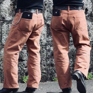 Vintage 40's XX Style Brown Pants