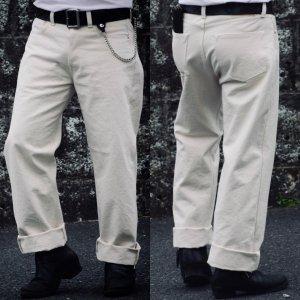 Vintage 40's XX Style White Pants