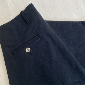 Vintage 1945 Jail Style Black Pants