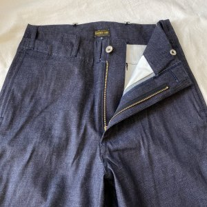 <img class='new_mark_img1' src='https://img.shop-pro.jp/img/new/icons2.gif' style='border:none;display:inline;margin:0px;padding:0px;width:auto;' />Vintage Style 1945 Prison Pants Indigo 8.8