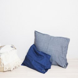 Linen Wool Cushion Cover 65×65(リネンウール)