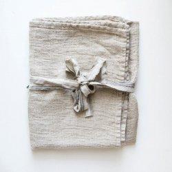 Linen waffle towel(リネンワッフルのフェイスタオル)