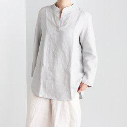 フレンチボーイフレンドリネンシャツ