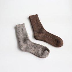 ヤクウールの靴下
