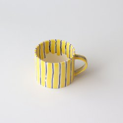 Folkdräkter Tea Cup / yellow&blue