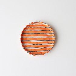 Folkdräkter Side Plate / orange&black