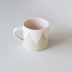 Barrskog Coffee Cup / 春緑