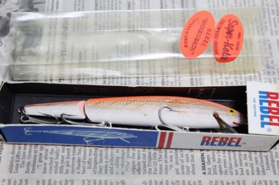 REBEL REBEL JOINTED MINNOW 140mm