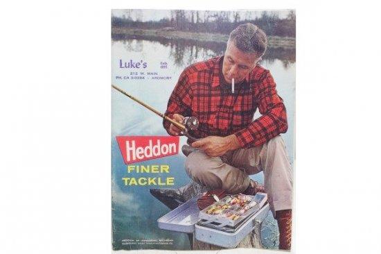 HEDDON CATALOG 1963