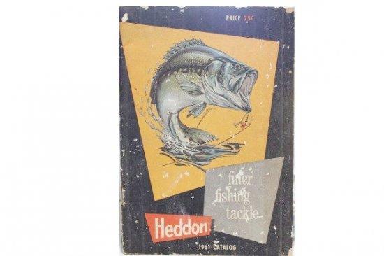 HEDDON CATALOG 1961