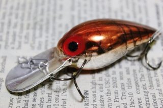 STORM WIGGLE WART V120 Metallic Brown Crayfish