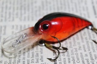 STORM WIGGLE WART V209 Naturistic Red Crawfish