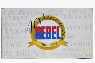40th REBEL カタログ 1962〜2002年
