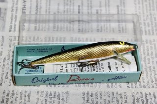 <img class='new_mark_img1' src='https://img.shop-pro.jp/img/new/icons13.gif' style='border:none;display:inline;margin:0px;padding:0px;width:auto;' />OLD RAPALA FLOATING F9 [G]