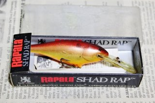 <img class='new_mark_img1' src='https://img.shop-pro.jp/img/new/icons13.gif' style='border:none;display:inline;margin:0px;padding:0px;width:auto;' />OLD RAPALA SHAD RAP