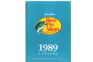 Bass Pro Shops CATALOG 1989
