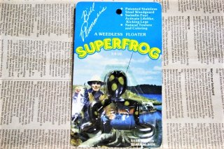 <img class='new_mark_img1' src='https://img.shop-pro.jp/img/new/icons13.gif' style='border:none;display:inline;margin:0px;padding:0px;width:auto;' />BILL PLUMMER SUPERFROG