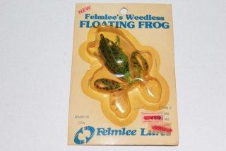 Felmlee Lures FLOATING FROG