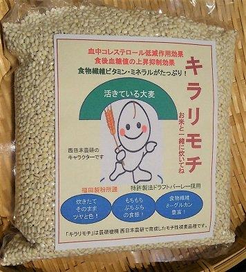 岡山県北産 キラリモチ大麦 500g