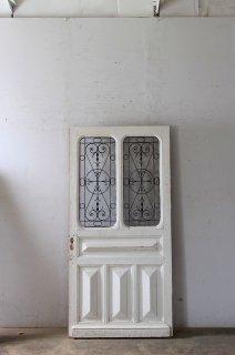 アンティークアイアン飾り 玄関ドア