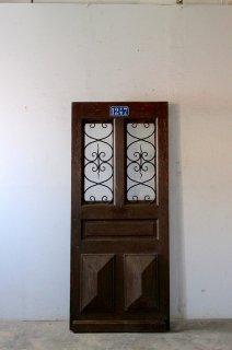 """""""No.1247"""" アイアン飾り 玄関ドア"""