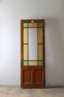 アンティーク 模様ガラスドア