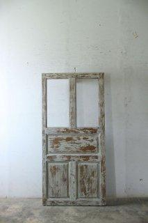 アンティーク木製ガラスドア