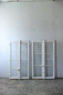 スペイン締め アンティークガラス窓