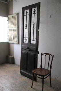 シンプルアイアン飾り 玄関ドア