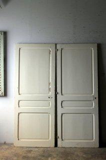 アンティーク パネルドア 同型2枚セット