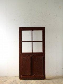 アンティーク ガラスドア