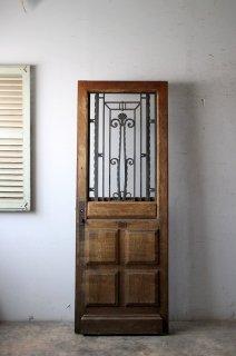 アンティーク 玄関ドア ヴィンテージラッチ錠付 キー1ヶ付